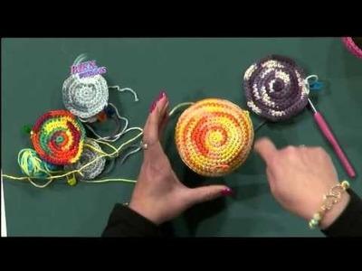 Programa Bienvenidas - Como decorar un mate en crochet