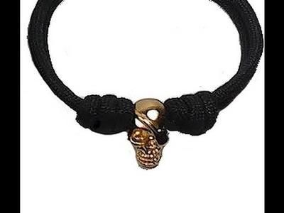 Pulsera Calavera Como hacer una Pulsera Calavera DIY Bracelet Skull