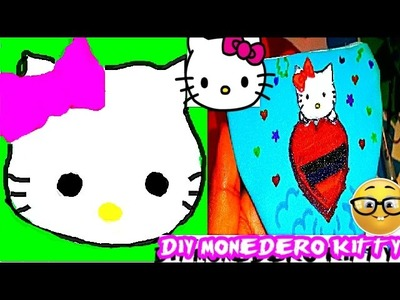 2 IDEAS PARA HACER MONEDERO KITTY | DIY PURSE KITTY