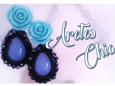 Aretes Chic - Bisuteria con Kath Craft