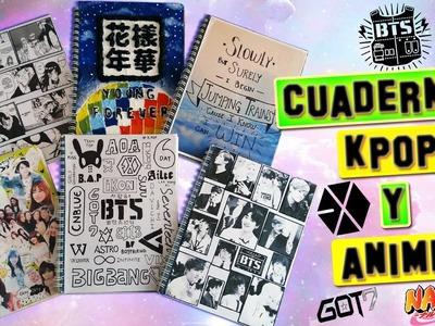 Decora tus Cuadernos: Kpop y Anime DIY