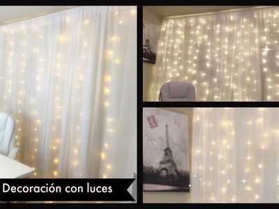 DIY: Decoración con luces