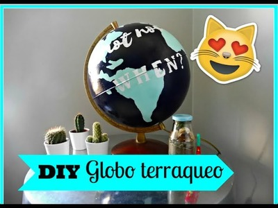 DIY Globo terraqueo decorativo!. Michelle Benoit