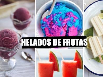 DIY: HELADOS Y SMOOTHIES DE FRUTAS