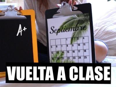 DIY: ORGANIZA TU ESCRITORIO | VUELTA A CLASE 1