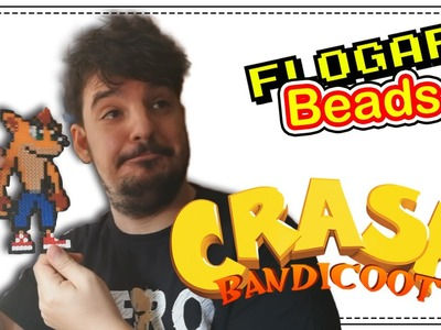 CRASH BANDICOOT - HAMA BEADS DE VIDEOJUEGOS #1 - DIY - FLOGAR BEADS TUTORIALES