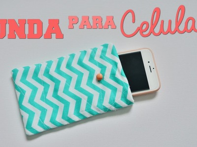 DIY - FUNDA PARA CELULAR FACIL! - TUTORIAL | Danii's Ways ♡
