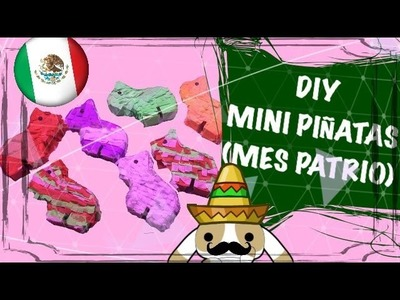DIY Mini Piñata (Mes Patrio Mexico) | Orange Craft