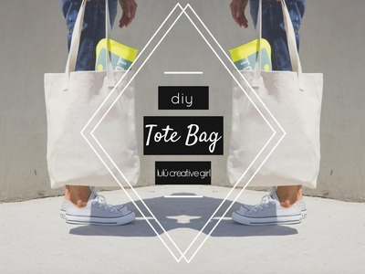 DIY ✂: Tote bag | #BackToSchool