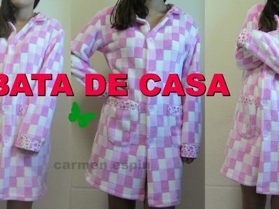BATA DE CASA:DIY