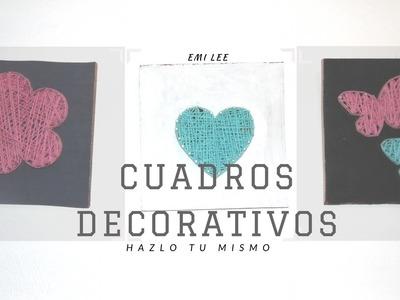 DECORA CON BONITOS CUADROS - DIY - EO021