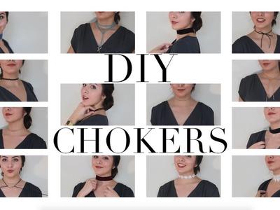 DIY CHOKERS: 14 estilos diferentes | 8va Avenida