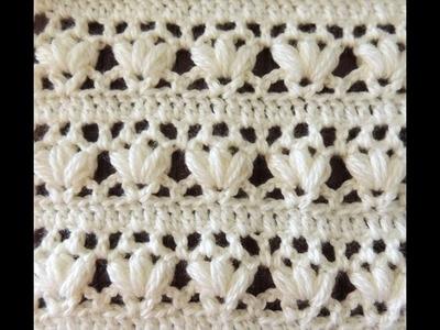 Crochet: Punto Combinado # 14