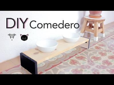 DIY Comedero. bebedero (GATO.PERRO)