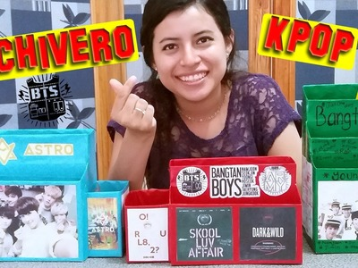 DIY: Haz tu Archivero Kpop!