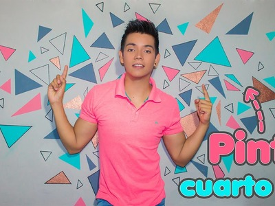 DIY: Pinta tu pared super FACIL, LINDO Y MODERNO