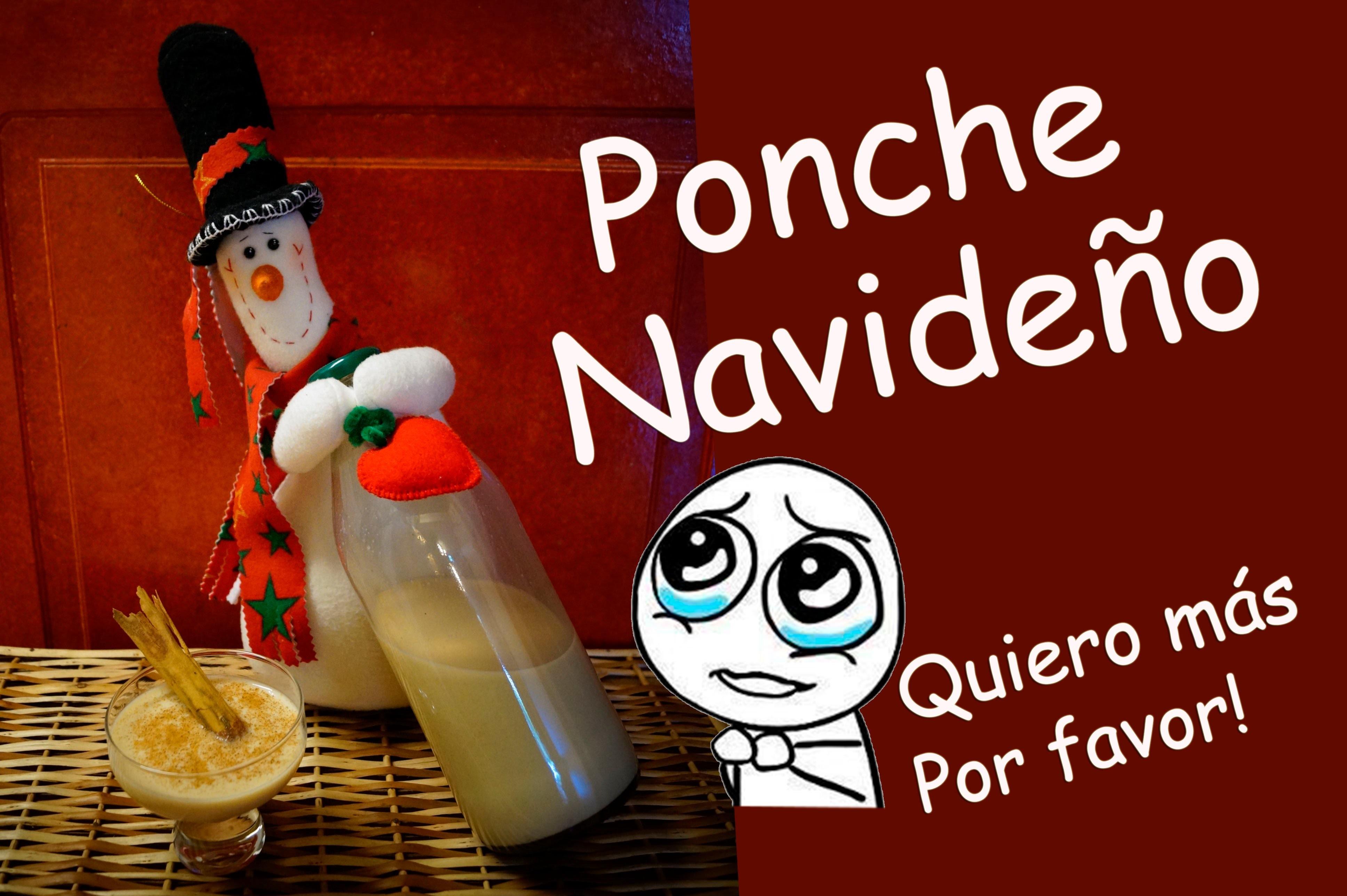 DIY - Tutorial Baileys casero - Ponche de Navidad - Ron Ponche. Rico y  MUY FÁCIL!