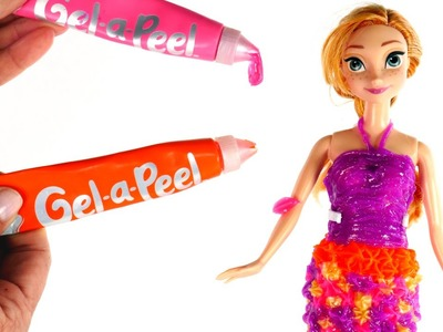 DIY Vestido para la Princesa Anna Gel-a-Peel