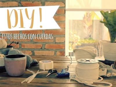 DIY Westwing | Cómo hacer bonitos cestos multiusos de forma muy fácil