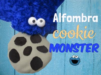 Manualidad DIY fácil: Alfombra cookie monster