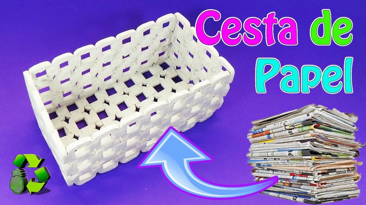 Papel como hacer un mo o para regalo diy gift bows como - Cesta de papel de periodico ...