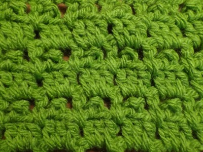 Puntada a crochet sencilla, fácil y útil. Muestra No. 67