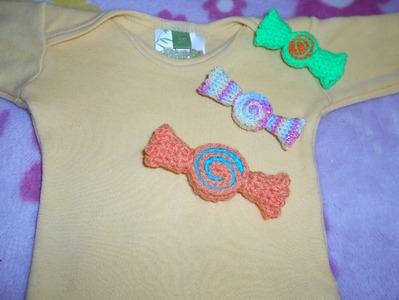 Carmelos tejidos en Crochet parte 2 de 2