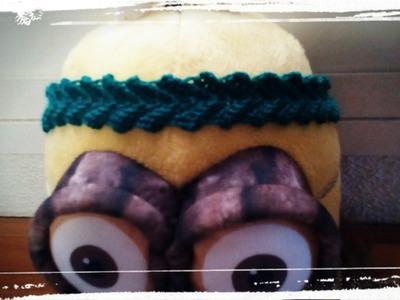 Como hacer una diadema de ganchillo o crochet