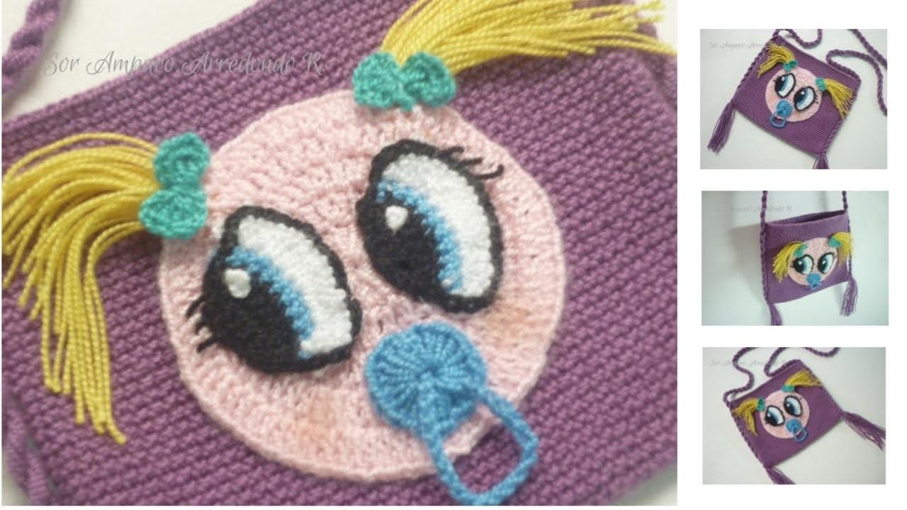 manualidades como tejer bolso para ni a a crochet f cil