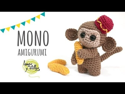 Tutorial Mono Amigurumi | Crochet o Ganchillo