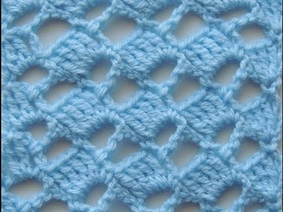 Crochet: Punto Escalera # 5