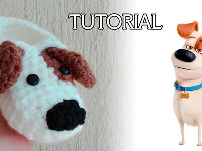 Tutorial pantufla de perrito a crochet