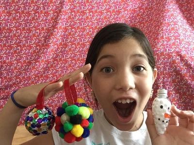 Adornos Navideños DIY.DIYChristmas Ornaments
