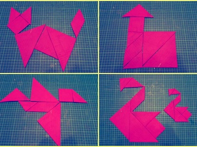 Como hacer un Tangram - DIY