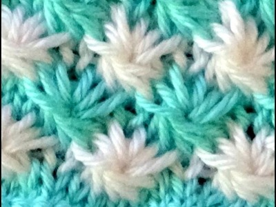 Cómo Tejer Punto ROPA BEBÉ #14 How to Knit a BABY STITCH 2 Agujas (386)