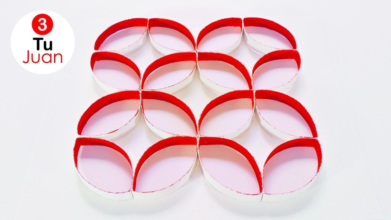 Decoraci n con rollos de papel higi nico diy juantu3 - Decoracion con rollos de papel higienico ...