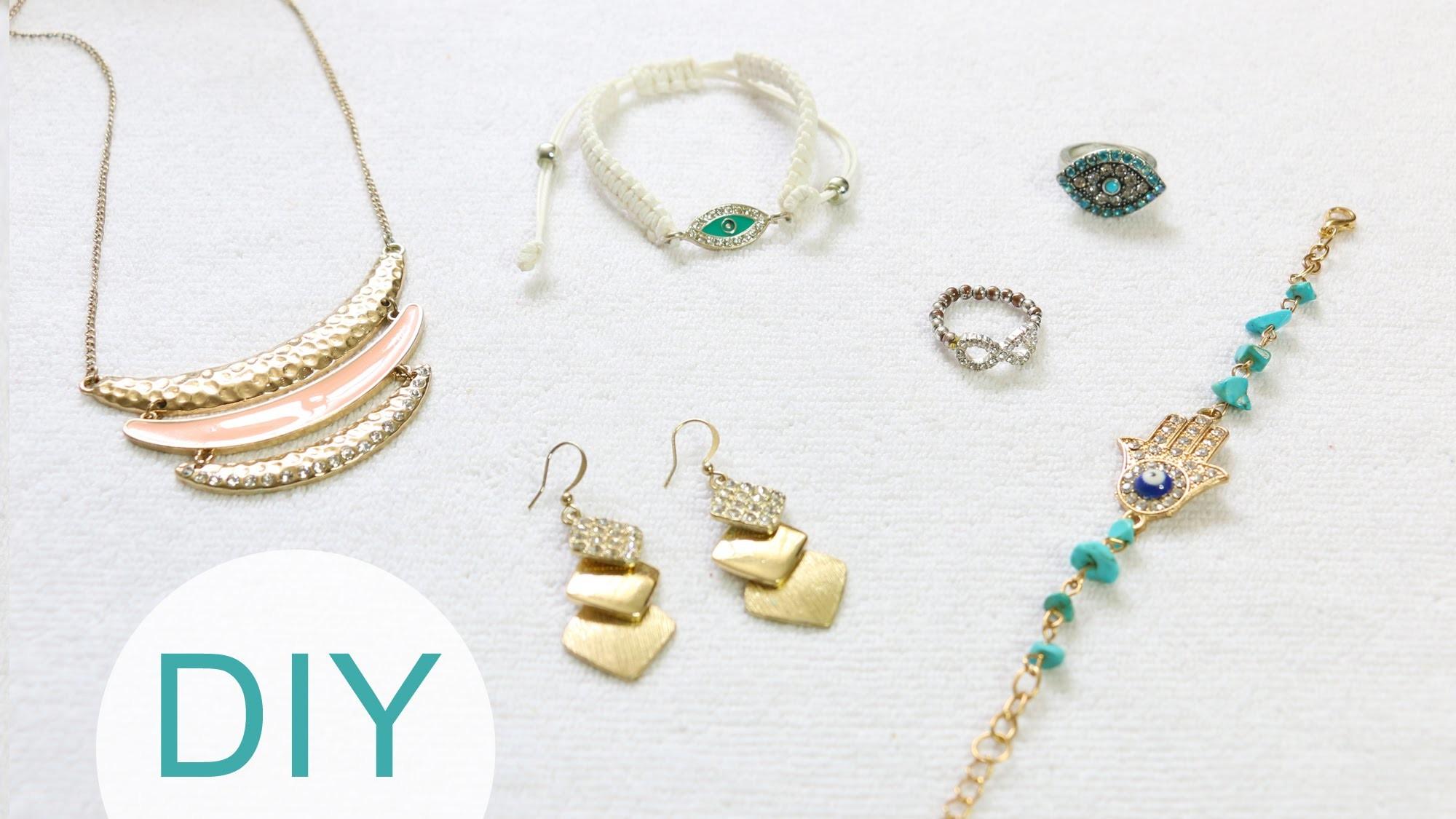 DIY: Cómo Proteger tus Joyas (de oxidar. con piedras) | LynSireEspañol