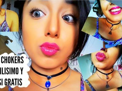 DIY: Tus CHOKERS Facilisimo y por menos $$$ de lo que pensas (Argentina) | ChicleBombon