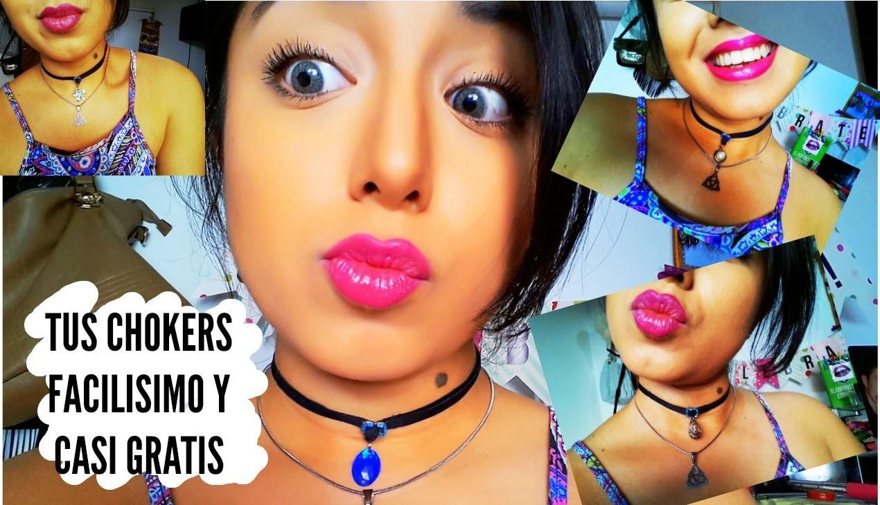 DIY: Tus CHOKERS Facilisimo y por menos $$$ de lo que pensas (Argentina)   ChicleBombon