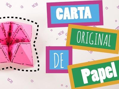 Hacer Carta Original en papel -  DIY
