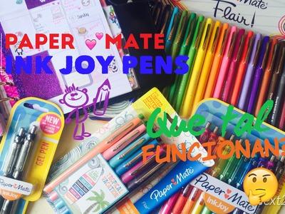 Paper mate ink joy pens! Que tal funcionan?