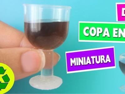 DIY | Copa en Miniatura - manualidades para muñecas - manaulidadesconninos