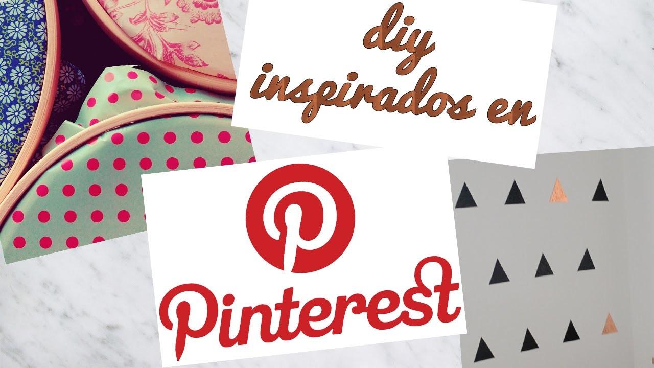 DIY - Decoración inspirada en pinterest - Fácil
