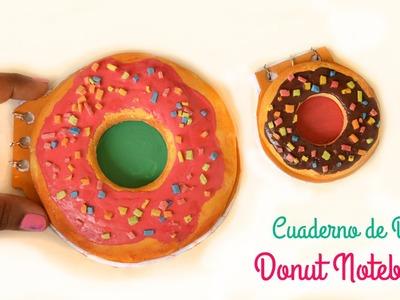 Libreta en Forma de Donas  Homero Simpson   Manualidades con Donuts   PORCELANA FRÍA
