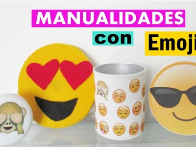 Manualidades con Emojis
