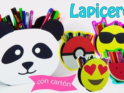 229. Manualidades con cartón: Lapiceros (Reciclaje) Ecobrisa