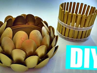 ♥ Como hacer portavelas con LATAS DE ATÚN! 2 ideas - Manualidades Ani Crafts