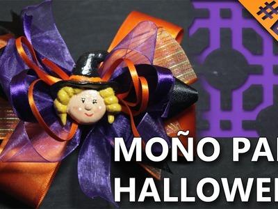 COMO HACER UN MOÑO PARA HALLOWEEN | Manualidades para halloween