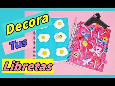 MANUALIDADES fáciles para HACER en CASA: Decora LIBRETAS y CUADERNOS - BeagleArts ♥