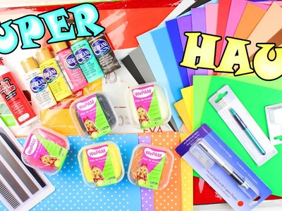 SUPER HAUL MATERIALES DE MANUALIDADES SEPTIEMBRE !!! con MYBA - Mery